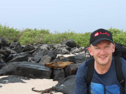 Baden's Galápagos Islands adventure and the world's most unusual post office